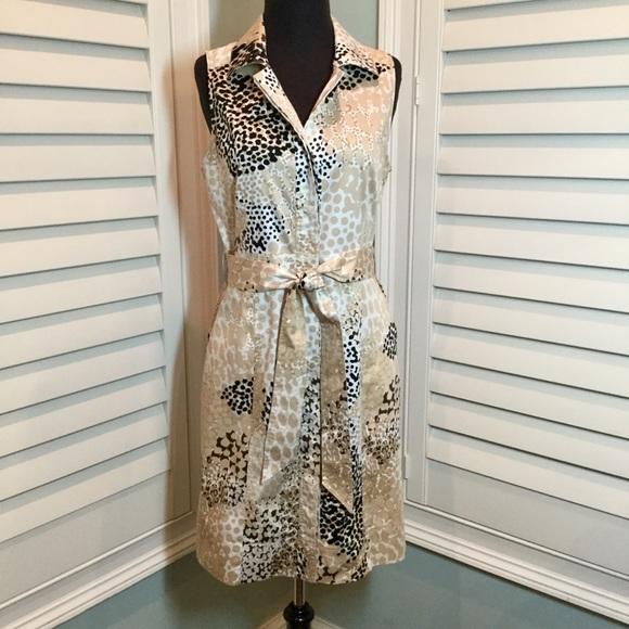 aee0cb916b7 NY   Co Animal Print Shirt Dress